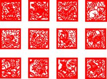 Chinese Zodiac Sign Stock Photography