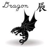 Chinese Zodiac Sign Dragon Royalty Free Stock Photos