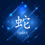 Chinese Zodiac Sign Snake Royalty Free Stock Photo
