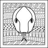 Chinese zodiac sign Snake Stock Image