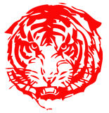Chinese zodiac of tiger Stock Photography
