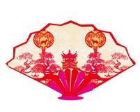 Chinese zodiac the year of Dog - range Stock Photo