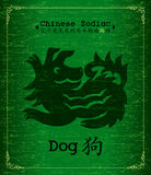 Chinese Zodiac-Year of the Dog Stock Images