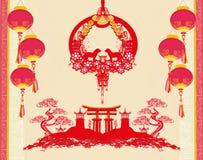 Chinese zodiac the year of Dog Stock Image