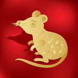 Chinese zodiac. year of rat Stock Images
