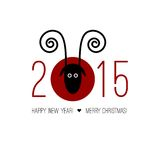 Chinese Zodiac 2015 - Year of the Sheep (Ram, Goat Stock Photography