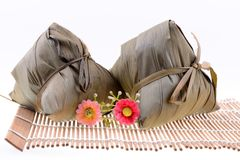 Chinese ZongZi for Dragon Boat Stock Image