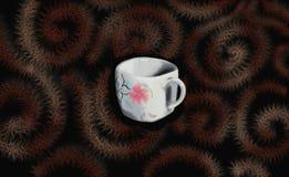 Chinesean kopp av utslagsplats eller kaffe royaltyfria foton
