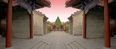 Chinesekampfarena 2 Lizenzfreie Stockfotos