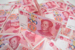 100 Chinesen Yuan Lizenzfreie Stockfotografie