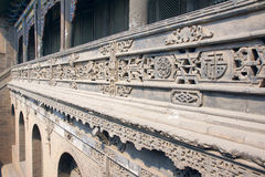 Chineses brick carving Stock Photos