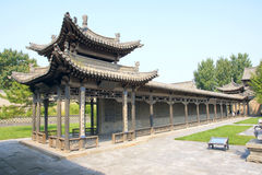 Chineses corridor royalty free stock image