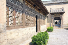 Chineses courtyard Royalty Free Stock Images
