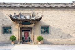 Chineses door Stock Photography