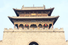 Chineses gate tower Stock Photos