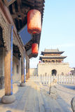 Chineses Gatterkontrollturm stockfotografie