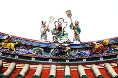 Chineses Temple Royalty Free Stock Images