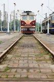 Chineseserie, die auf der Station bleibt Stockfotografie
