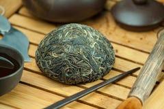 Chineseshen-puer Tee Lizenzfreie Stockfotos