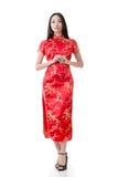 Chinesinkleidtraditionelles cheongsam stockbilder