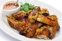 Chinesisch-Ähnliches gebratenes Huhn stockbilder