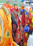 Chinesisch-Art Kleidung stockbild