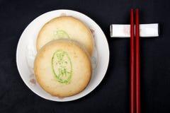 Chinesisch-Art Nachtisch. stockfotos