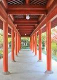 Chinesisch-Art Promenade Lizenzfreie Stockfotografie