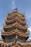 Chinesisch-Ofen im Tempel stockfoto
