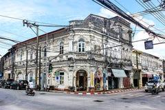 Chinesisch-portugiesischer Phuket Stockfoto