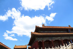 Chinesische alte Architektur Lizenzfreies Stockfoto