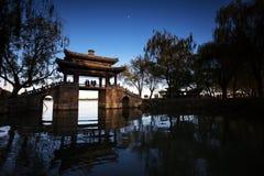 Chinesische alte Architektur Stockfotos