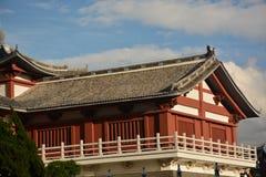 Chinesische alte Architektur stockfotografie