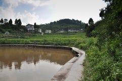Chinesische alte Dörfer Stockfotos