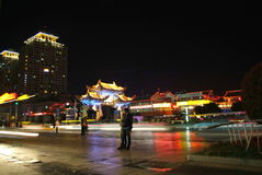 Chinesische alte Gebäude Stockbilder