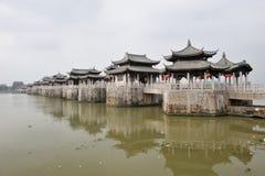 Chinesische alte guangji Brücke Stockbilder