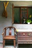 Chinesische alte Möbel Stockfotografie