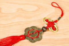 Chinesische alte Münzen Lizenzfreies Stockfoto