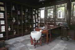 Chinesische alte Studie Stockbilder