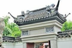 Chinesische alte Tür Stockfoto