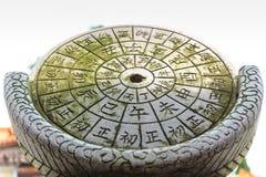 Chinesische alte Timer-Uhr Stockfotos