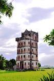 Chinesische alte Tourismusgebäude Stockbild