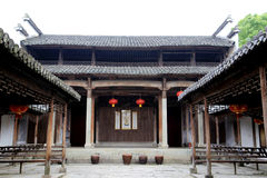 Chinesische alte traditionelle Architektur Lizenzfreies Stockfoto