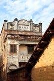 Chinesische alte Volkshäuser in der Landschaft Lizenzfreies Stockfoto