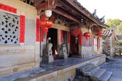 Chinesische alte Wohnungen Stockbilder