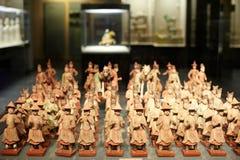 Chinesische alte Zahl Statue der Tang-Dynastie lizenzfreie stockbilder