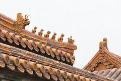 Chinesische Architektur Lizenzfreie Stockfotografie