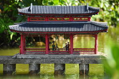 Chinesische Architektur Stockfotografie