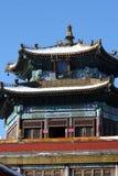 Chinesische Art-Architektur Stockbild