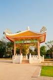 Chinesische Art des Pavillions lizenzfreie stockfotografie